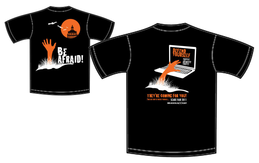 Scare Fair Shirt - Front and Back Views