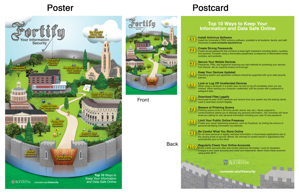 Poster and Postcard Designs